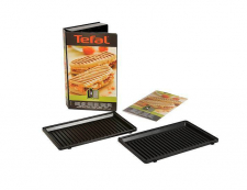 Tefal - Tefal piastre XA800312 griglie panini Snack Time Collection Happiness SW34 SW85