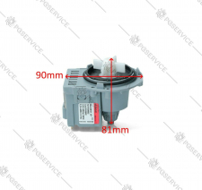 SKL - Askoll pompa scarico M231XP 40W lavatrice Candy Hoover Electrolux Whirlpool AEG
