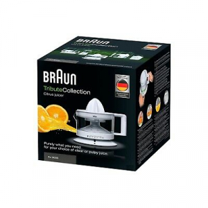 Braun spremiagrumi CJ3000WH 4161 Tribute Collection 350ml 220V lavastoviglie